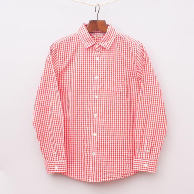 """Mango Gingham Shirt """"Brand New"""""""