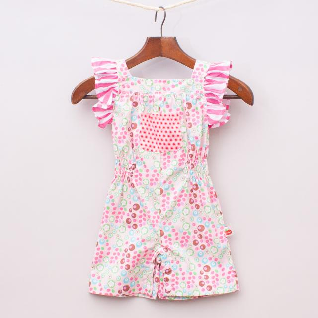"""Oobi Patterned Playsuit """"Brand New"""""""