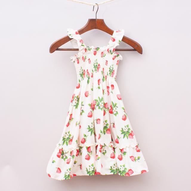 Rock Your Kid Strawberry Dress