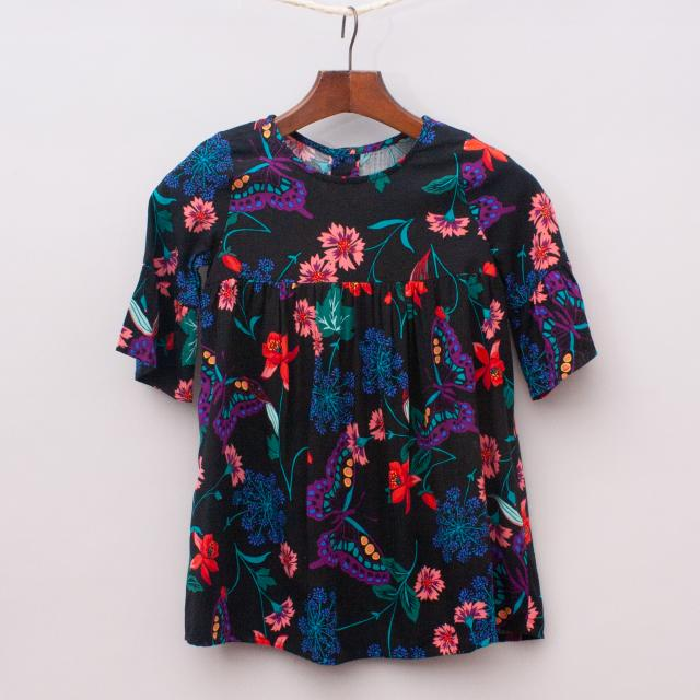 "Crazy8 Butterfly Dress ""Brand New"""