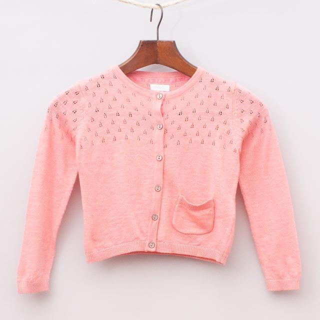 Next Pink Cardigan