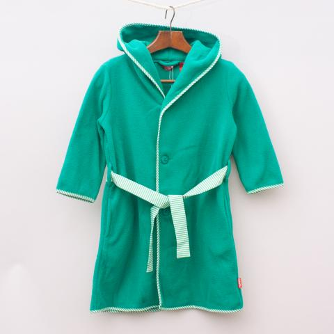 """Rhubarb Green Dressing Gown - Size 3-4 """"Brand New"""""""