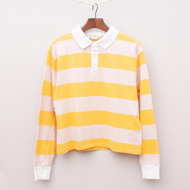 """Cotton On Striped Rugby Top """"Brand New"""""""