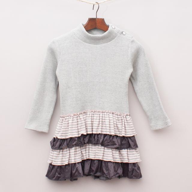 Miss Treasures Ruffle Dress