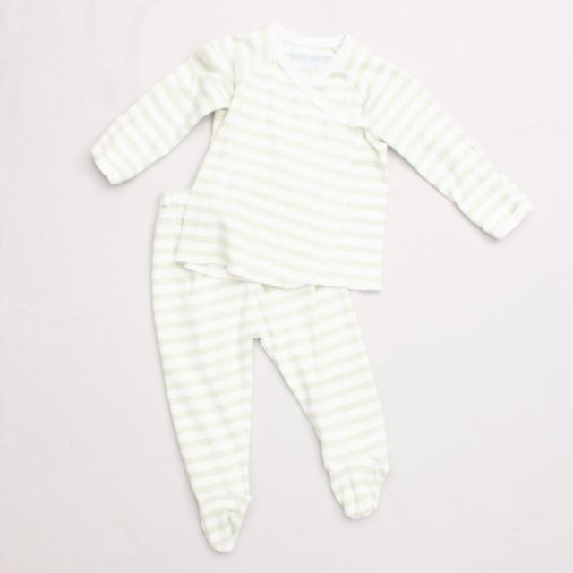 Under The Nile Organic Cotton Striped Top & Pants