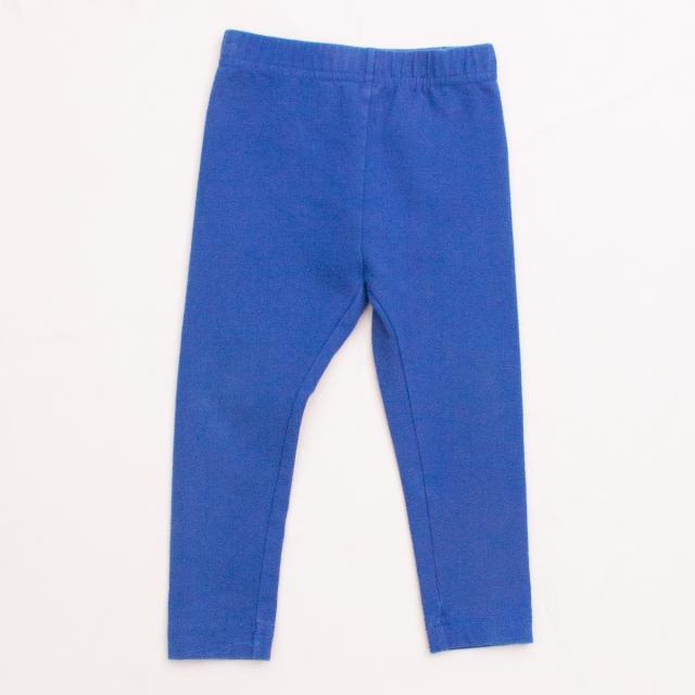 Hanna Anderson Blue Leggings