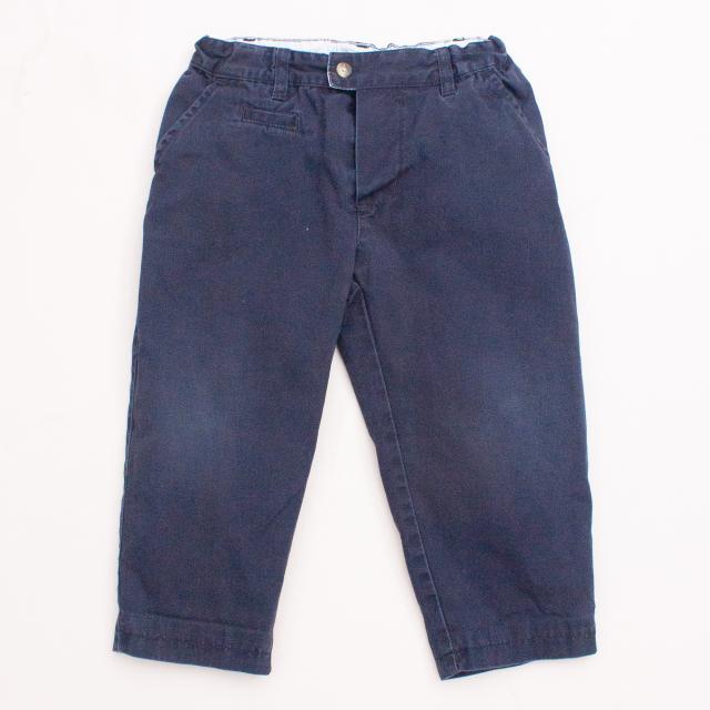 Petit Bateau Navy Blue Pants