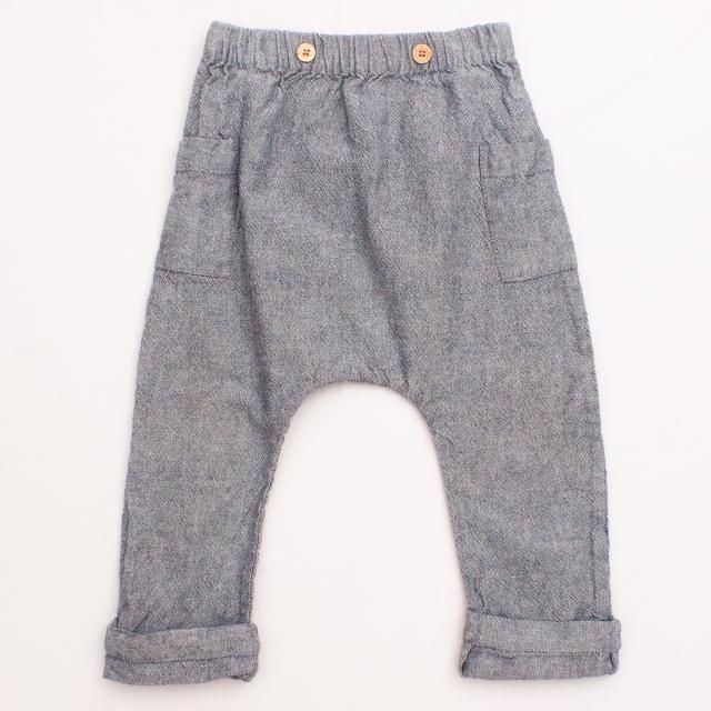 Arsene et les Pipelettes Charcoal Pants