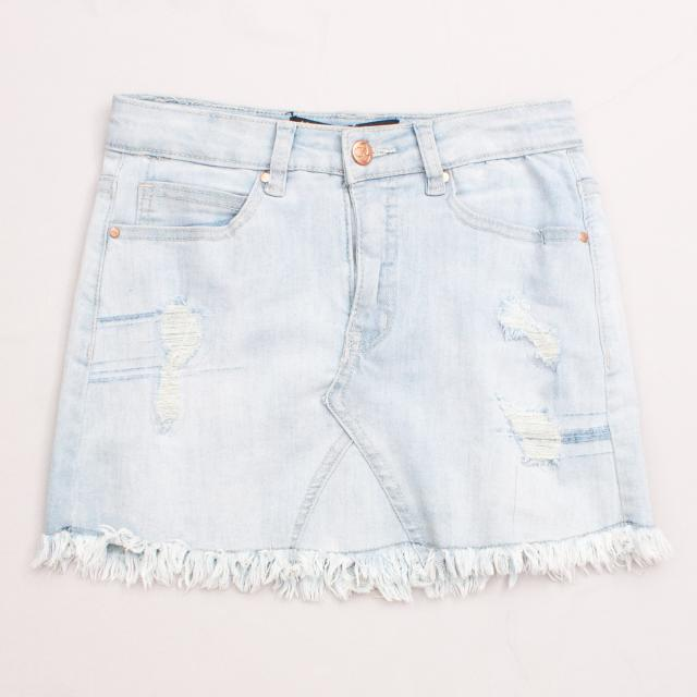 "Pavement Denim Skirt ""Brand New"""