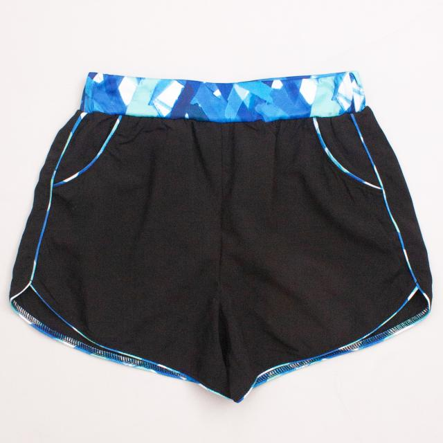 Flo Patterned Sports Shorts