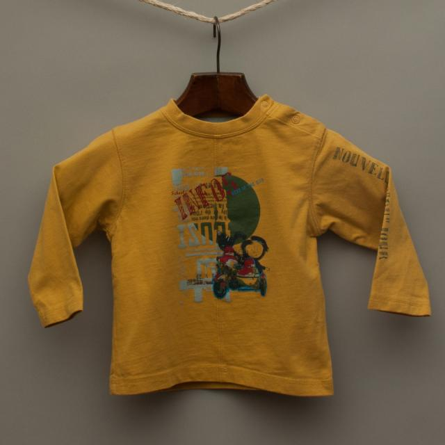 Mustard Yellow Long Sleeve Top