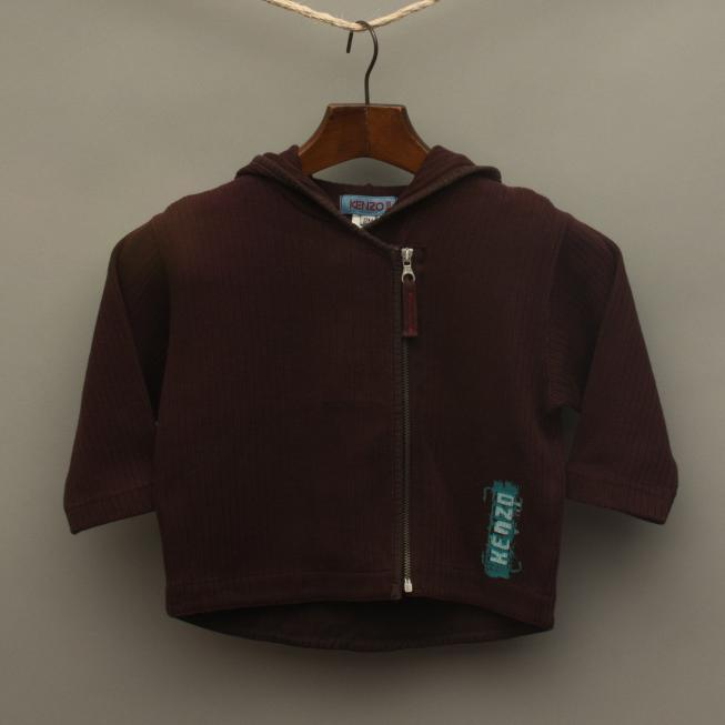 Maroon Hooded Jumper