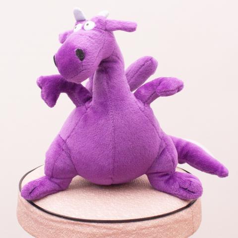 Purple Dragon Soft Toy