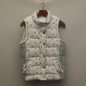 Grey Spotted Puffer Vest
