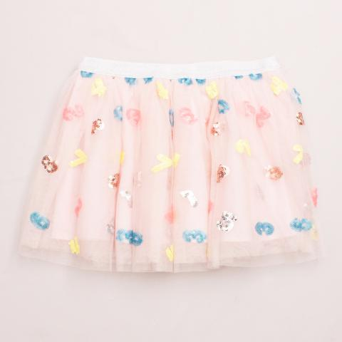 """Seed Tulle Embellished Skirt """"Brand New"""""""