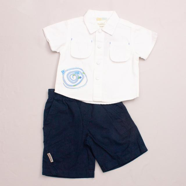 "Baby Who? Shirt & Shorts Set ""Brand New"""