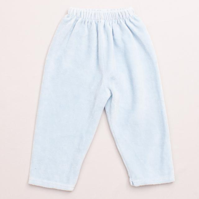 Blue Velour Pants