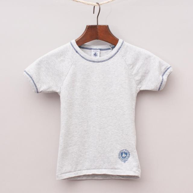 Petit Bateau Grey T-Shirt