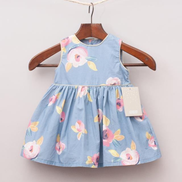 "Mamas & Papas Floral Dress ""Brand New"""
