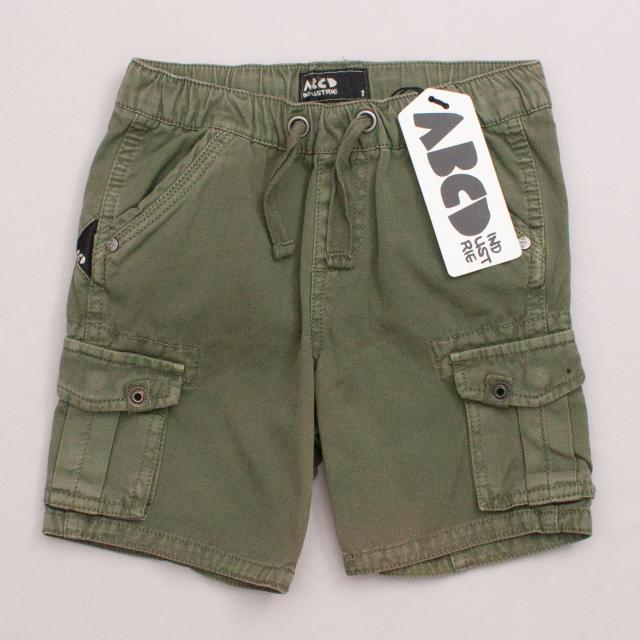 "Industrie Khaki Shorts ""Brand New"""