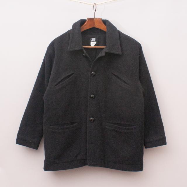Fred Bare Wool Blend Coat