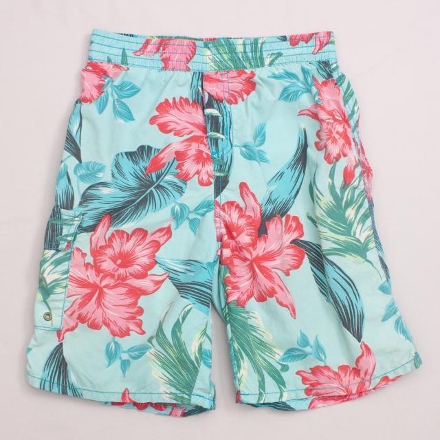 Catimini Hawaiian Board Shorts