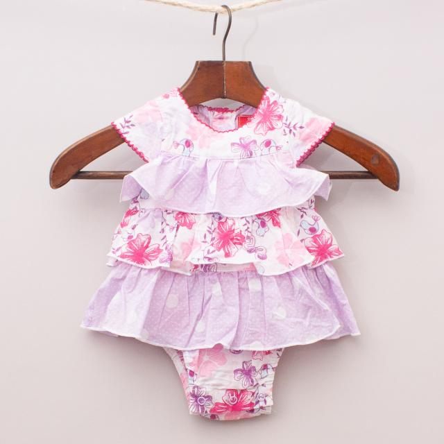 Sprout Ruffle Romper