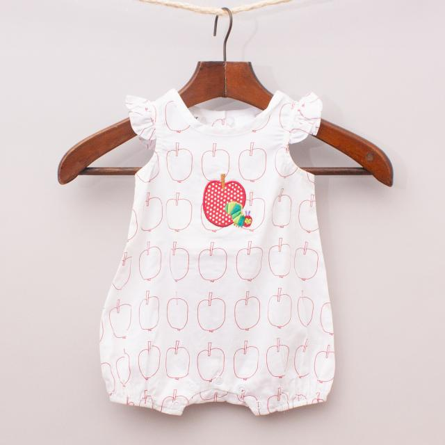 The Very Hungry Caterpillar Apple Romper