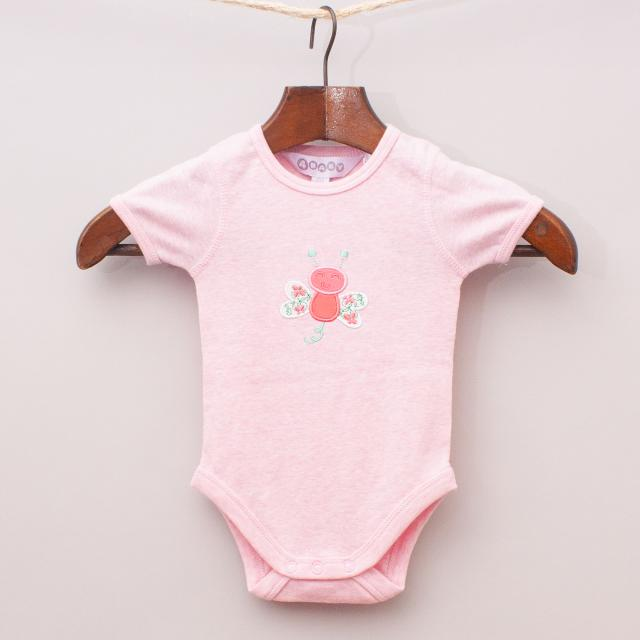 """4 Baby Butterfly Romper """"Brand New"""""""
