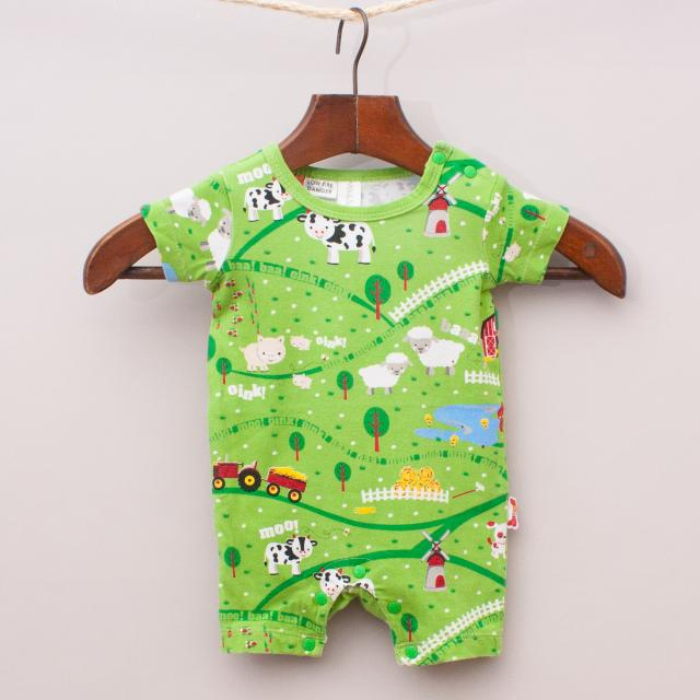 Milk & Sugar Farm Romper