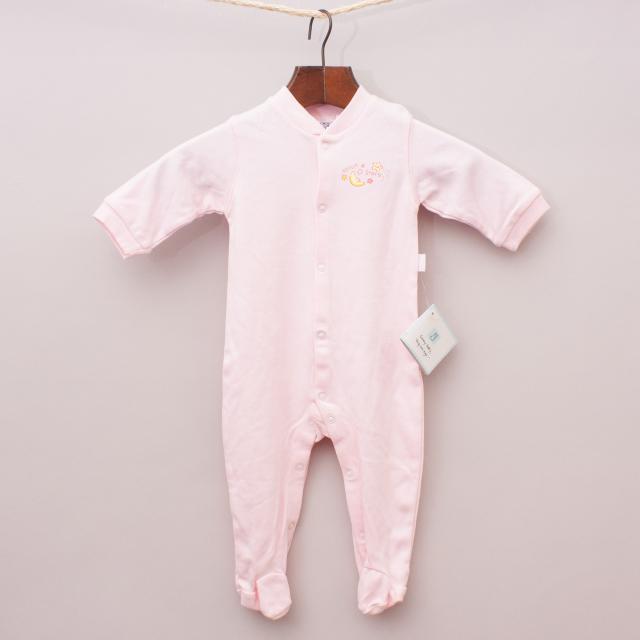"Sunny Baby Pink Romper ""Brand New"""