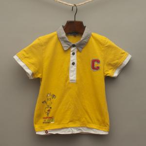 Lime Yellow Polo Shirt