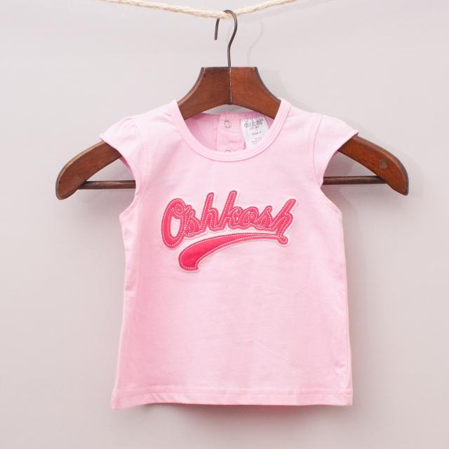 """OshKosh Pink Singlet """"Brand New"""""""