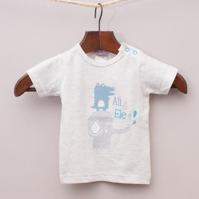 """Papoose Elephant T-Shirt """"Brand New"""""""