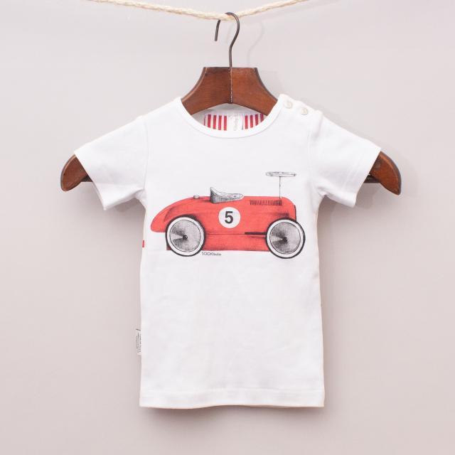 "Sooki Baby Race Car T-Shirt ""Brand New"""