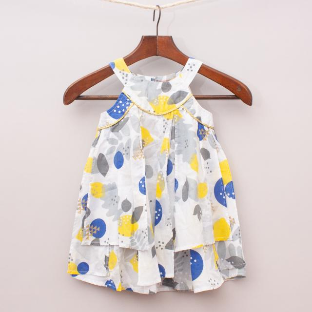 """Sprout Layered Dress """"Brand New"""""""