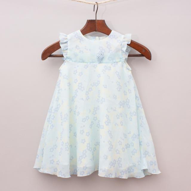 Bubblegum Floral Dress