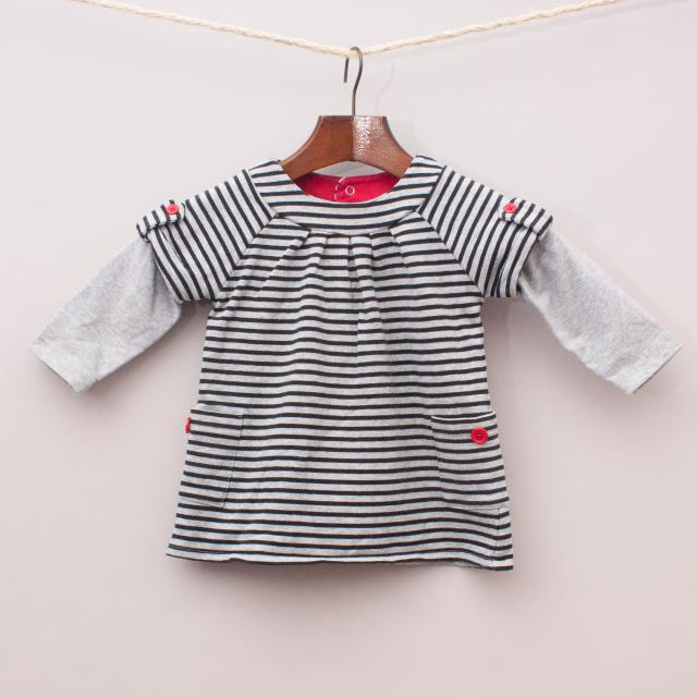 Sprout Striped Dress