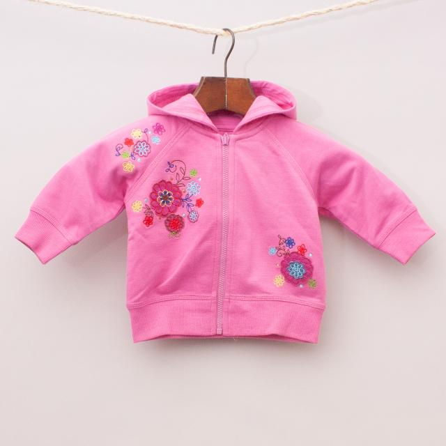 """Mothercare Embroidered Hooded Jumper """"Brand New"""""""