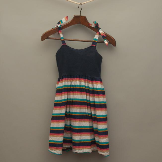 Striped Crochet Dress