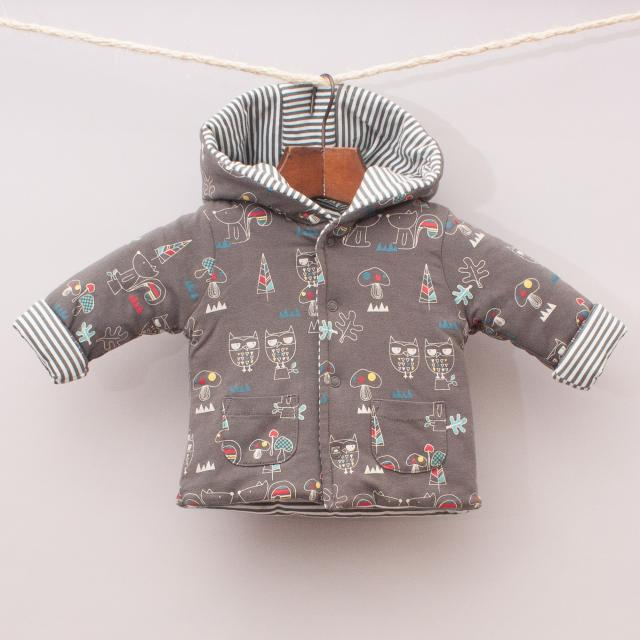 Sprout Hooded Jumper