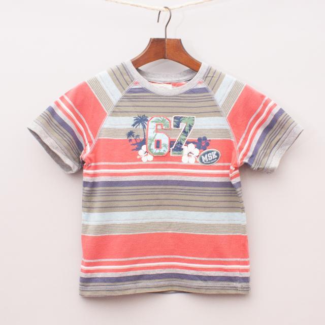 Milkshake Striped T-Shirt