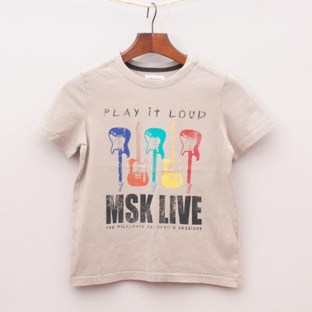 Milkshake Guitar T-Shirt