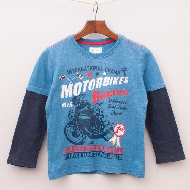 Milkshake Motorbike Long Sleeve
