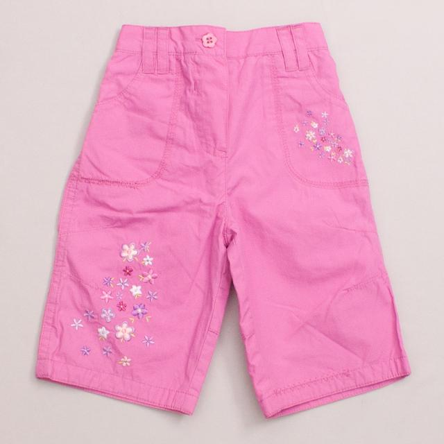 "Mothercare Embroidered Pants ""Brand New"""