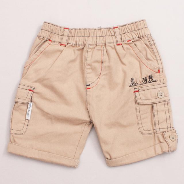 Beatrix Potter Brown Shorts