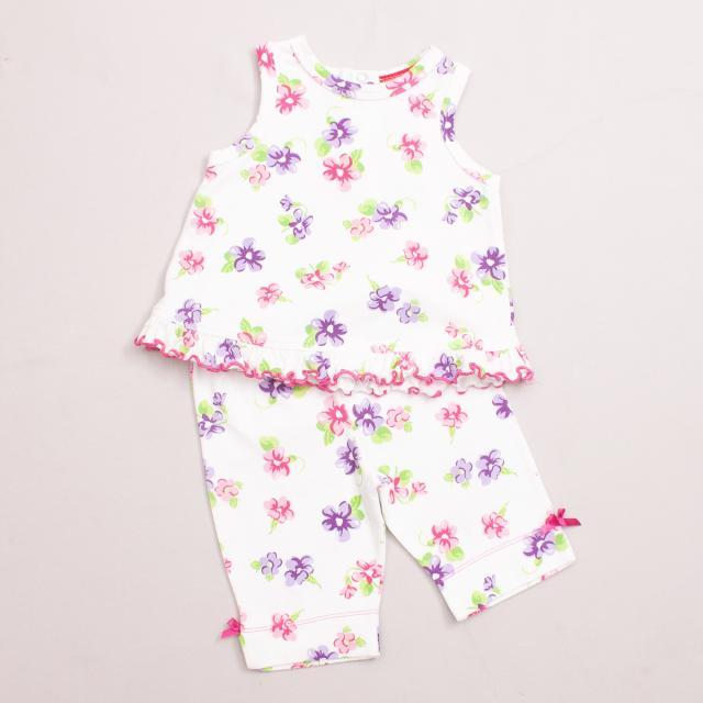 Sprout Floral Top & Pants Set