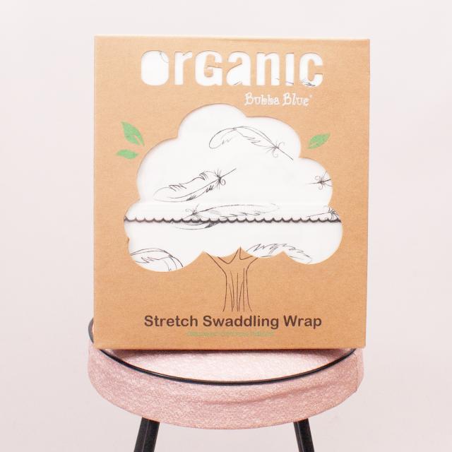 "Bubba Blue Organic Stretch Swaddling Wrap ""Brand New"""