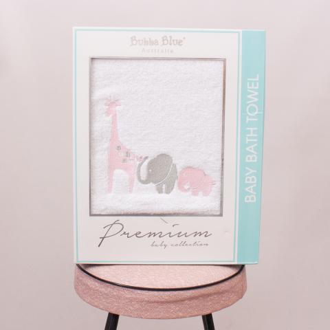 "Bubba Blue Animal Baby Bath Towel ""Brand New"""