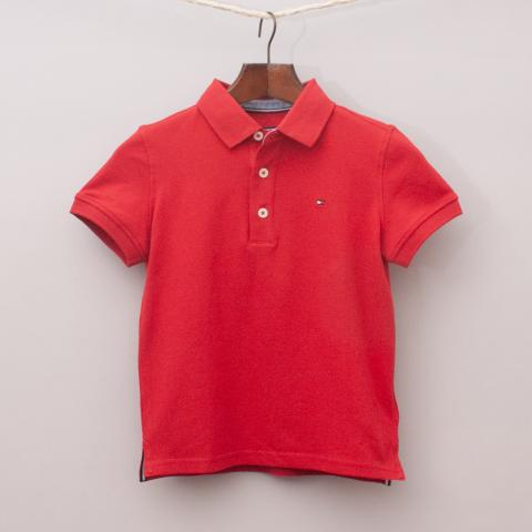 """Tommy Hilfiger Red Polo Shirt """"Brand New"""""""
